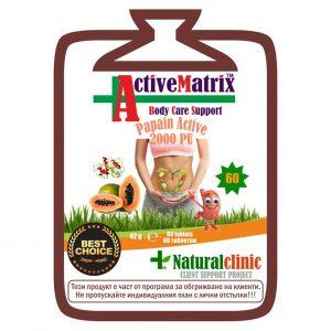 Papain Active представлява пребиотик